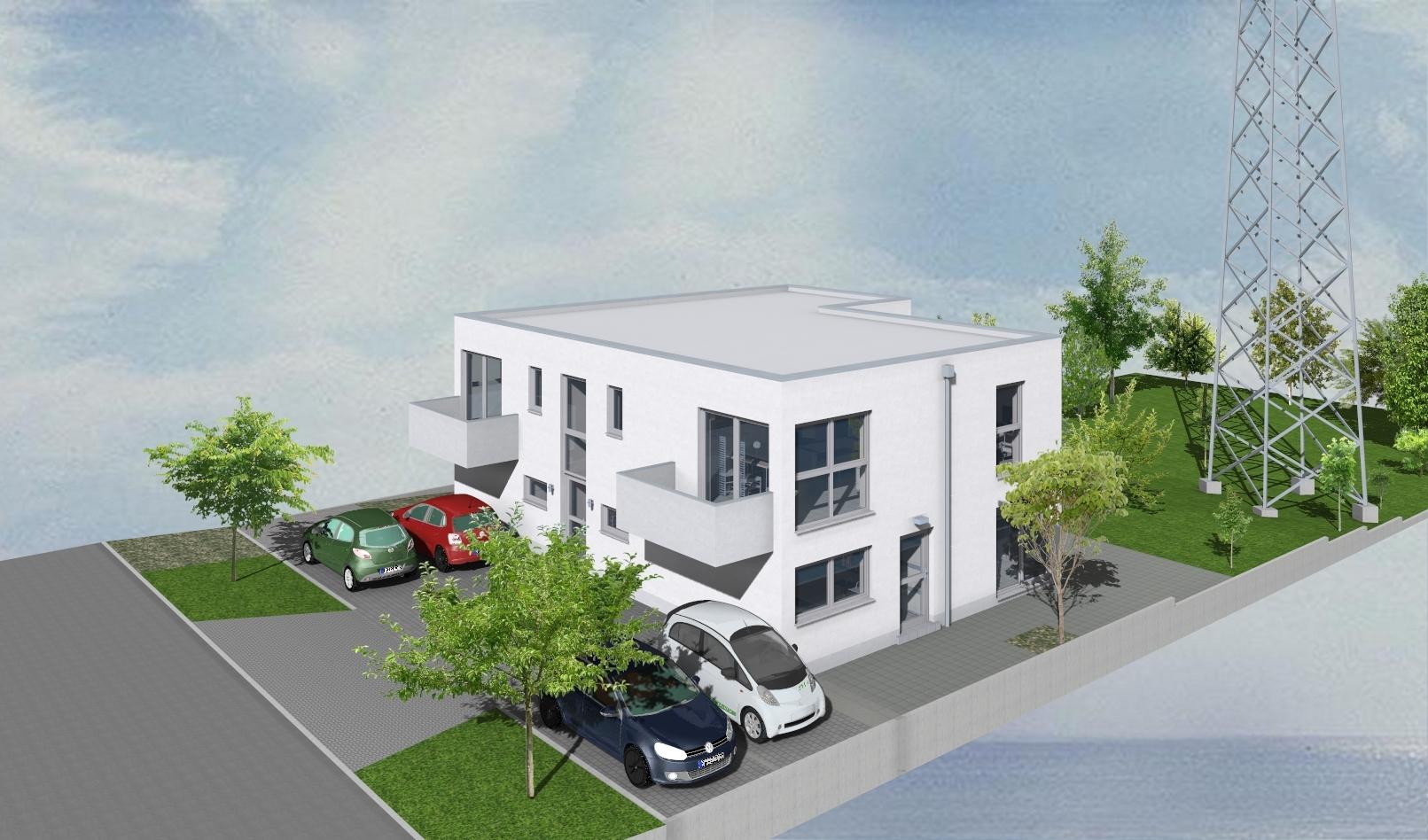 Neubau in Bornheim-Widdig * 3 Zimmer-Terrassenwohnung im 3 ...