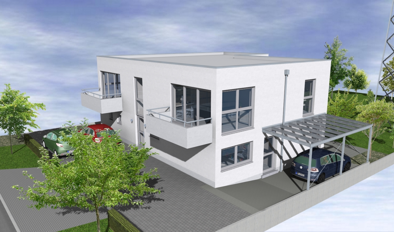 NEUBAU in Bornheim * 2 Zimmer mit Balkon im 3 Parteienhaus in ...