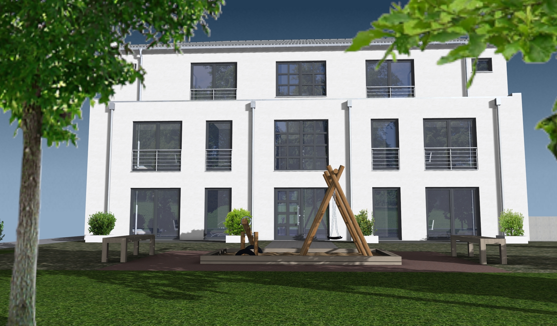 Neubau EG Wohnung in 8 Familienhaus mit Tiefgarage *in Toplage von ...